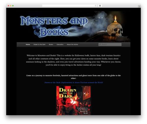 Twenty Eleven free WordPress theme - monstersandbooks.com