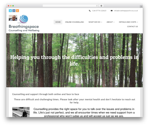 WordPress theme Cannyon_ - breathingspace-counselling-and-wellbeing.com