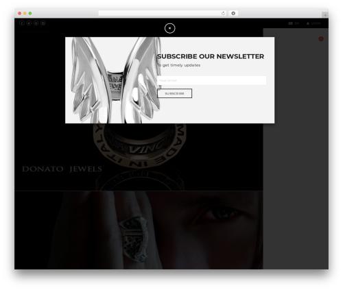 WordPress theme DMCS - donatojewels.com