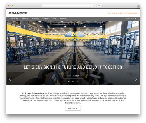WordPress theme I-Tul Design & Software - grangerconstruction.com