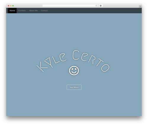 Arcade Basic free website theme - kylecerto.com