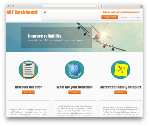 Customizr best free WordPress theme - art-dashboard.com