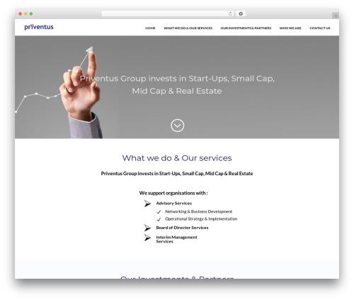 Divi WordPress real estate - priventus.com