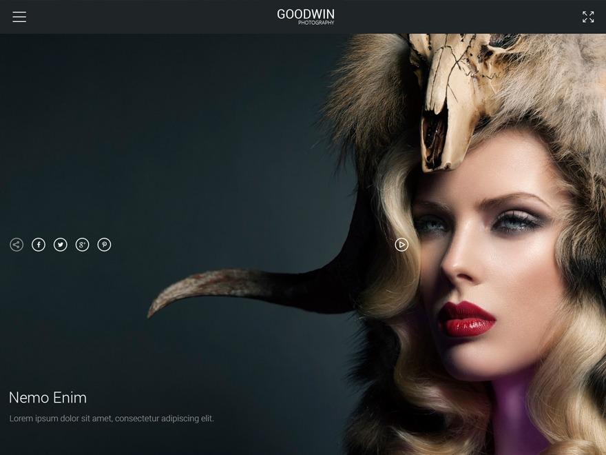 GOODWIN wallpapers WordPress theme
