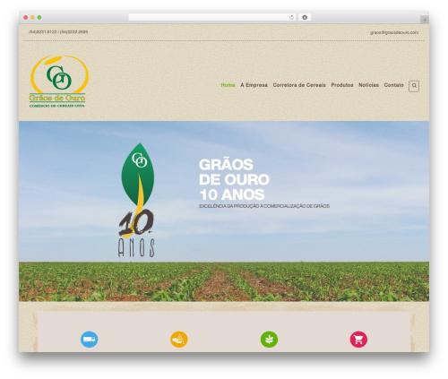 Organic Web Shop best WooCommerce theme - graosdeouro.com