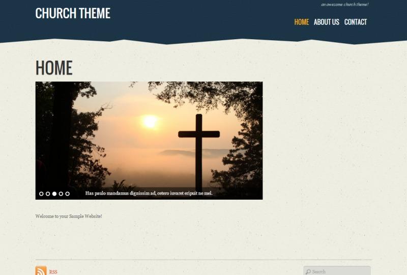 Theme WordPress Tisa