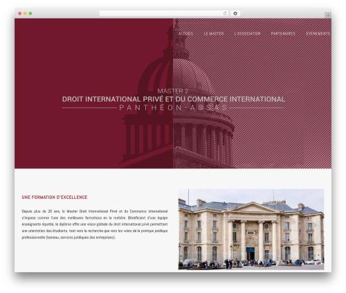 WordPress theme Enliven Pro - m2droitinternationalprive.com
