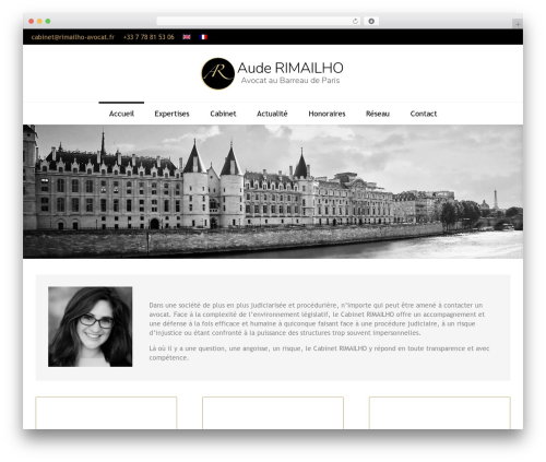 WordPress theme Fenimore - rimailho-avocat.com