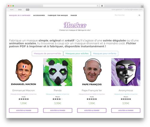 Activello WordPress template free download - maskeo.com