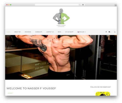 Best WordPress theme Wolverine - nasserfyoussef.com