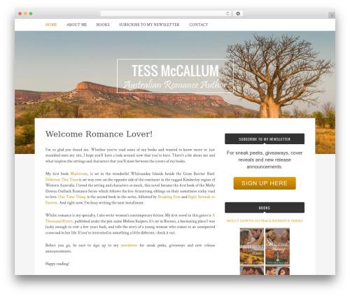 Bulan template WordPress free - tessmccallum.com