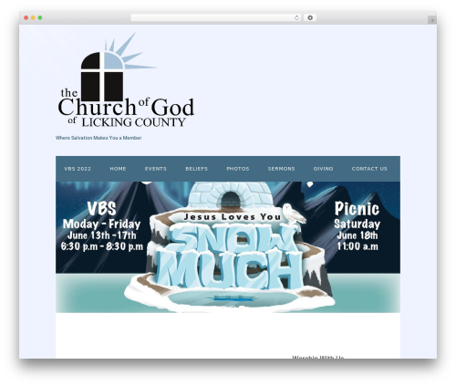 WordPress megamenu-pro plugin - churchofgodlc.com