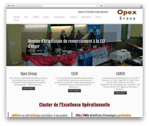 Customizr best free WordPress theme - ceo-dz.com
