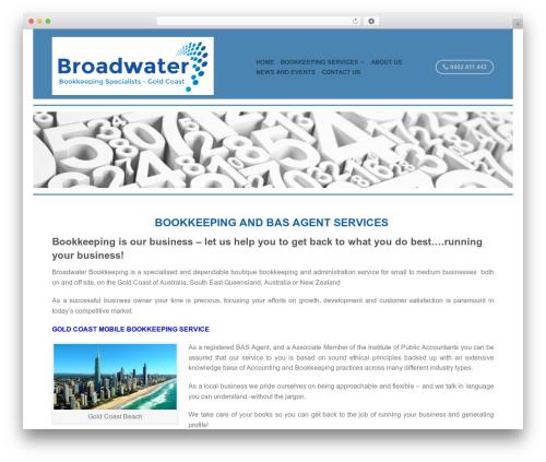 Flatsome Themekiller.com company WordPress theme - broadwaterbookkeeping.com