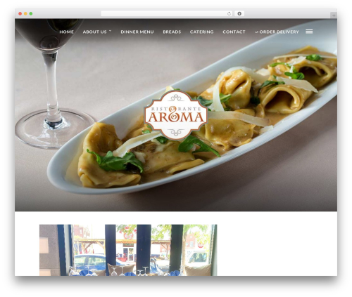 Grand Restaurant best restaurant WordPress theme - ristorantearomaphilly.com