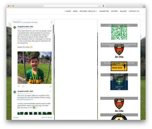 Layout Builder template WordPress free - aughlisnafingac.com