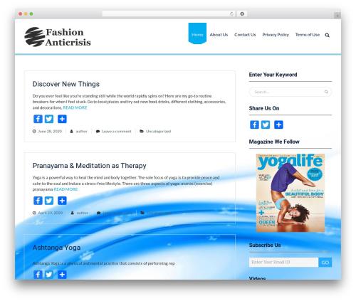 Mediclean best WordPress theme - fashion-anticrisis.com