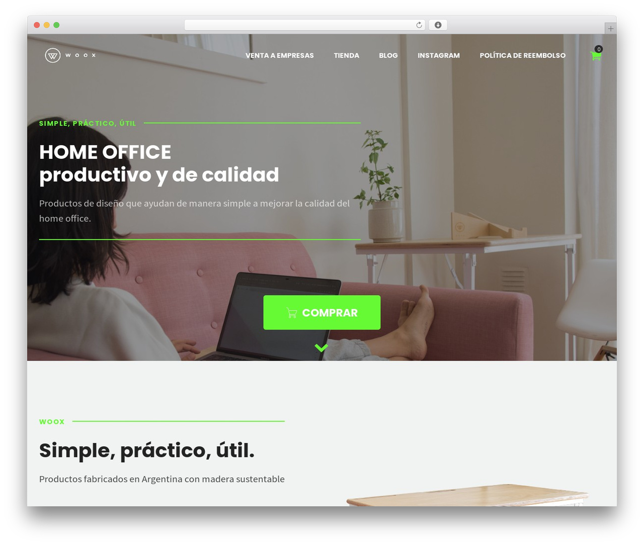 Shopscape WordPress ecommerce theme - getwoox.com