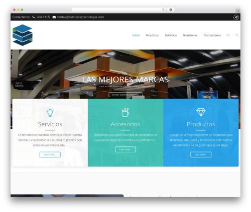 The8 WordPress theme - serviciosytecnologia.com