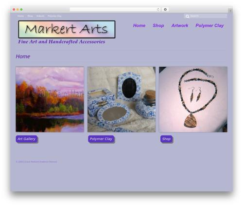 Virtue WP theme - markertarts.com