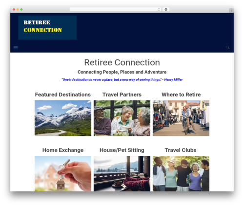 WordPress theme Betheme - retireeconnection.com