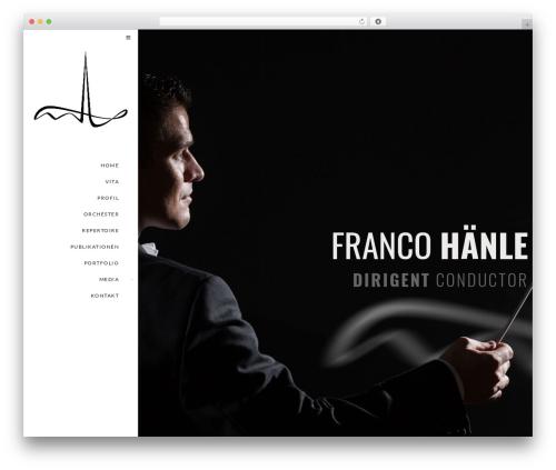 WordPress theme Euforia - francohaenle.com