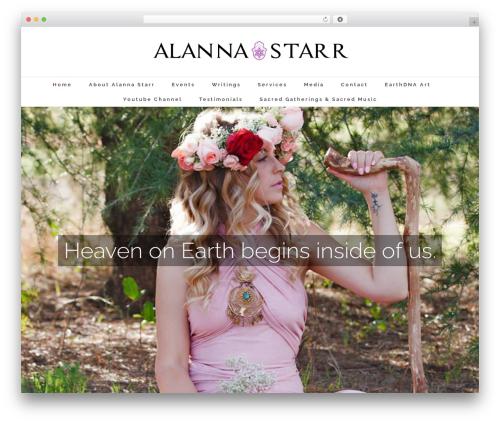 WP template Avada - alannastarr.com