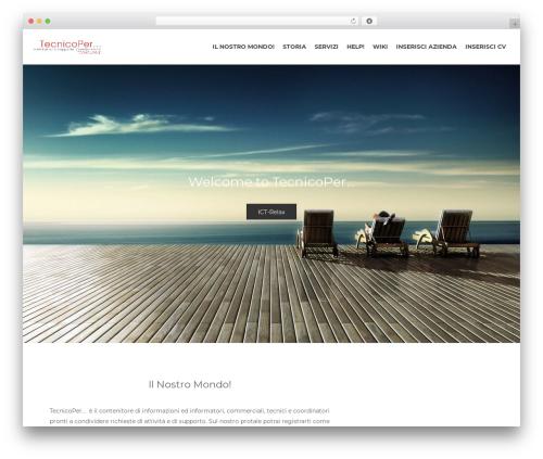 Bazaar WordPress template - tecnicoper.it
