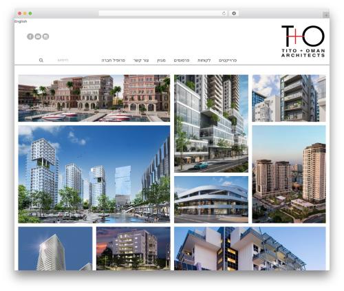 Best WordPress template Avada - tito.co.il