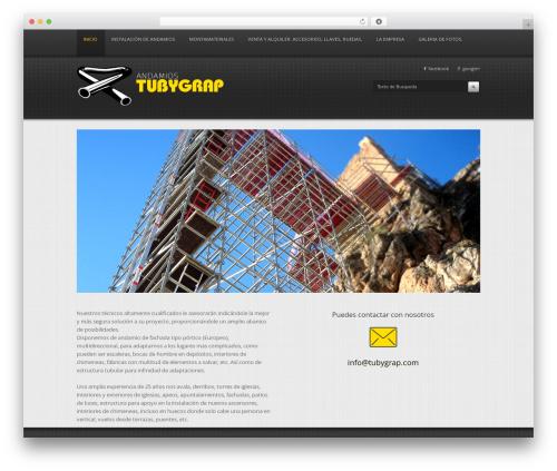 Cassiopeia Premium Wordpress Theme WordPress theme - tubygrap.com