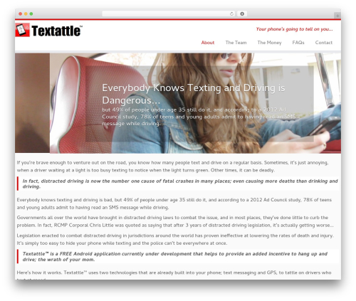 Customizr best free WordPress theme - textattle.com