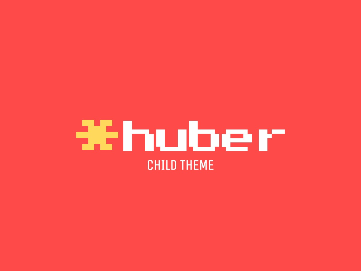 Huber Child WordPress theme