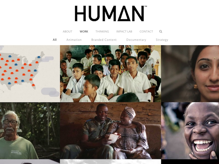 Human Child best WordPress template