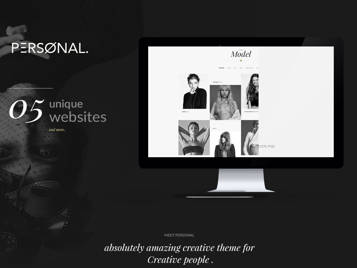 Nextop WordPress template