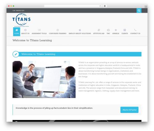 Nictitate premium WordPress theme - titanslearning.com