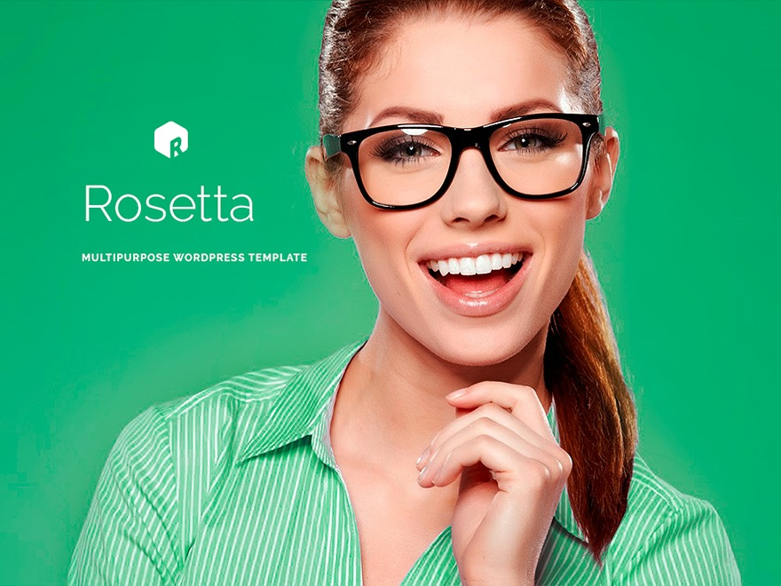 rosetta WordPress template