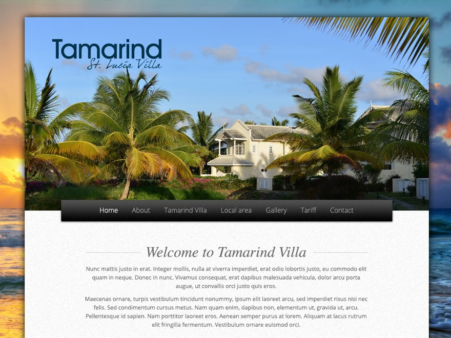 Tamarind theme WordPress