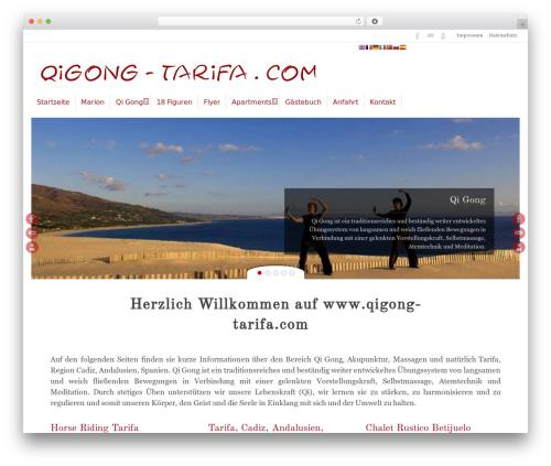 Tempera template WordPress free - tarifa-wellness.com
