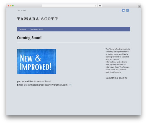 The Newswire WordPress magazine theme - tamarascott.com