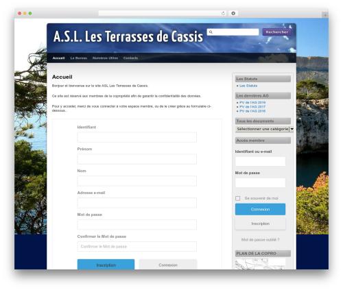 Third Style WP template - terrasses-de-cassis.com