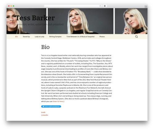 Twenty Thirteen theme WordPress free - tessbarker.com