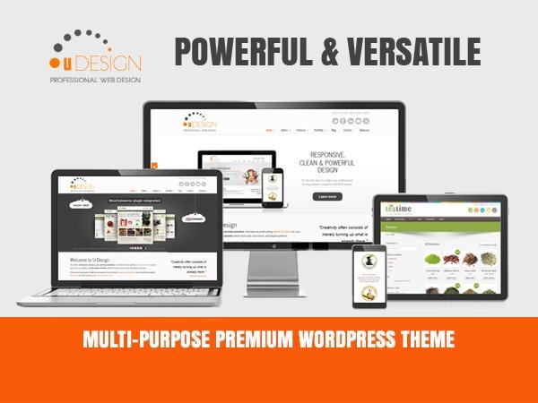U-Design (shared on themelot.net) WordPress shop theme