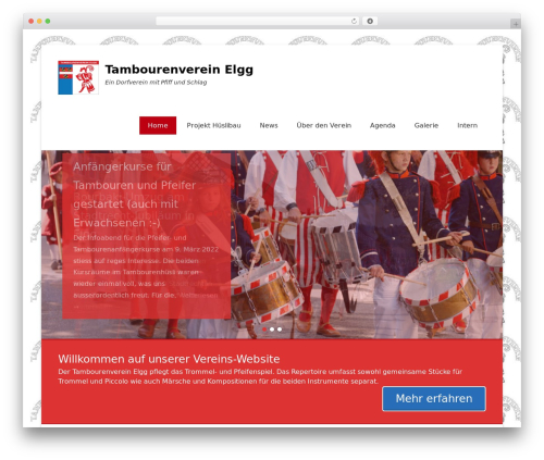 Free WordPress TablePress plugin - tambourenverein-elgg.ch