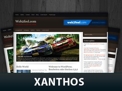 WordPress theme Xanthos