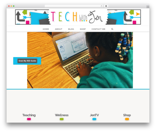 WP template X - techwithjen.com