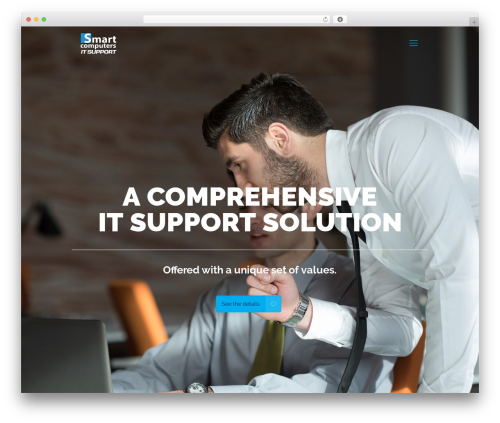 Betheme WordPress website template - smartcomputersitsupport.com