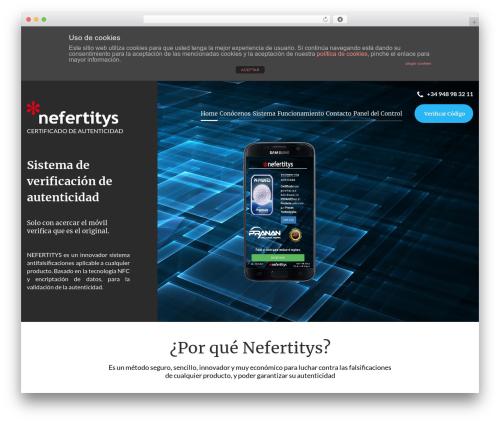 Cherry Framework best WordPress template - nefertitys.com