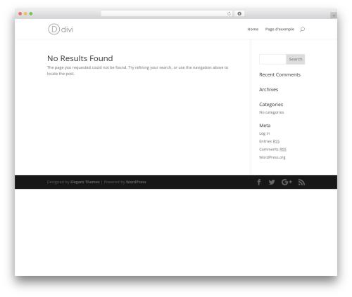 Divi WordPress shop theme - dareyquem.com