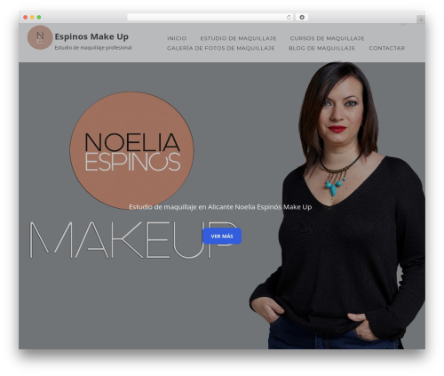 Enliven best WordPress theme - noeliaespinos.com