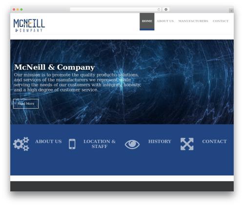 Hercules company WordPress theme - mcneillandco.com